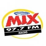 Logo da emissora Rádio Mix 97.7 FM