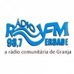 Logo da emissora Rádio FM Verdade 98.7