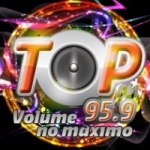 Logo da emissora Radio Top 95.9 FM