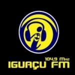 Logo da emissora Rádio Iguaçu 104.9 FM