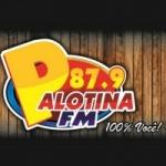 Logo da emissora Rádio Palotina 87.9 FM