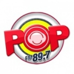 Logo da emissora Rádio POP FM 89.7