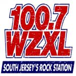 Logo da emissora WZXL 100.7 FM