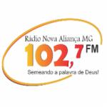 Logo da emissora Rádio Nova Aliança MG