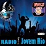 Logo da emissora Rádio Jovem Rio 87.9 FM