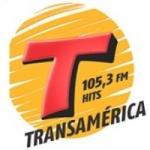 Logo da emissora Rádio Transamérica 105.3 FM