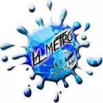 Logo da emissora Radio La Metro 98.1 FM