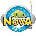 Logo da emissora Rádio Nova 106.7 FM