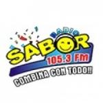 Logo da emissora Radio Sabor 105.3 FM