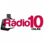 Logo da emissora Rádio 10 Online