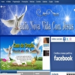 Logo da emissora Rádio Nova Vida Com Jesus