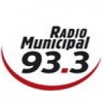 Logo da emissora Radio Municipal 93.3 FM