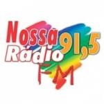 Logo da emissora Rádio Nossa Rádio 91.5 FM