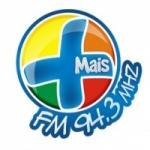 Logo da emissora Rádio Mais 94.3 FM