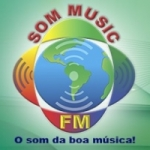 Logo da emissora Som Music FM