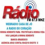 Logo da emissora R�dio Casa de J�