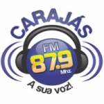 Logo da emissora R�dio Caraj�s 87.9 FM