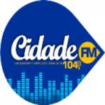 Logo da emissora Rádio Cidade 104.9 FM Faxinal