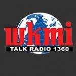 Logo da emissora WKMI 1360 AM