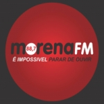Logo da emissora Rádio Morena 88.7 FM