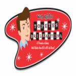 Logo da emissora Topetes e Brilhantina Web Rádio