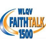 Logo da emissora WLQV 1500 AM Faith Talk