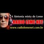 Logo da emissora R�dio Leme Net