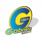 Logo da emissora Rádio Gabriela 104.9 FM