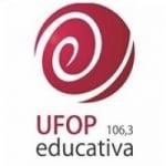 Logo da emissora Rádio Educativa UFOP 106.3 FM