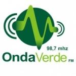 Logo da emissora Rádio Onda Verde 98.7 FM