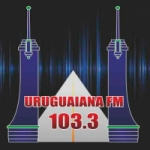 Logo da emissora Rádio Uruguaiana 103.3 FM