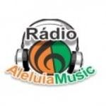 Logo da emissora R�dio Aleluia Music