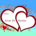 Logo da emissora Rádio Amor de Novela