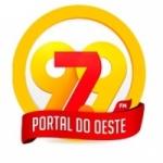 Logo da emissora Rádio Portal do Oeste