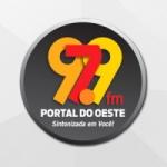Logo da emissora Portal do Oeste FM