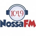 Logo da emissora R�dio Nossa FM 104.9