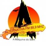Logo da emissora Rádio Alternativa 88.9 FM
