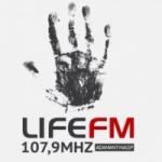 Logo da emissora Rádio Life 107.9 FM