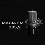 Logo da emissora Rádio Magia 105.9 FM