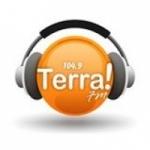 Logo da emissora R�dio Terra 104.9 FM