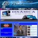 Logo da emissora Web Rádio Dinâmica