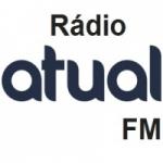 Logo da emissora Atual FM Web Rádio