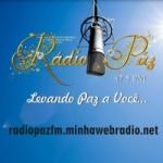 Logo da emissora Rádio Paz 87.5 FM