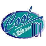 Logo da emissora WQXC 101.1 FM Cool