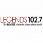 Logo da emissora WLGZ 102.7 FM Legends