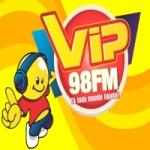 Logo da emissora Rádio Vip Fm 98