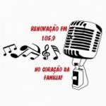 Logo da emissora Rádio Renovação 105.9 FM