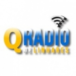 Logo da emissora Q-Rádio de Linhares