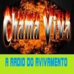 Logo da emissora R�dio Chama Viva