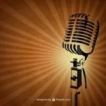 Logo da emissora Rádio Gospel Rosa de Sarom